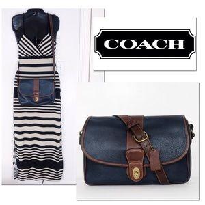 Coach Vintage Pebble Leather Glenwood Crossbody